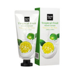Крем для рук с каламанси и маслом ши FarmStay Tropical Fruit Hand Cream Calamansi & Shea Butter, 50мл
