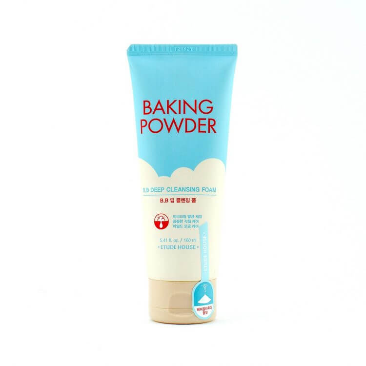 Пенка для удаления ББ крема Etude House Baking Powder BB Deep Cleansing Foam, 160мл