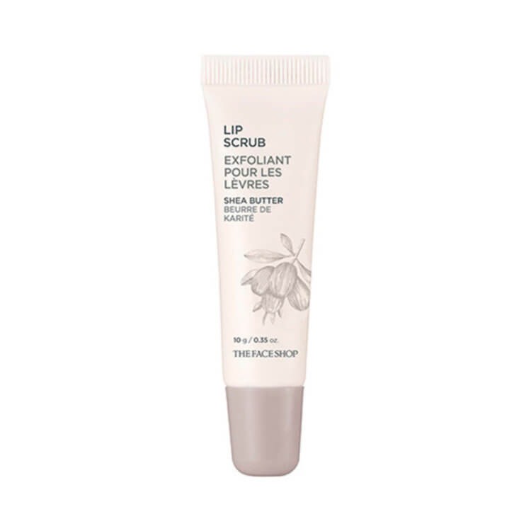 Скраб для губ с маслом ши The Face Shop Shea Butter Lip Scrub, 10г
