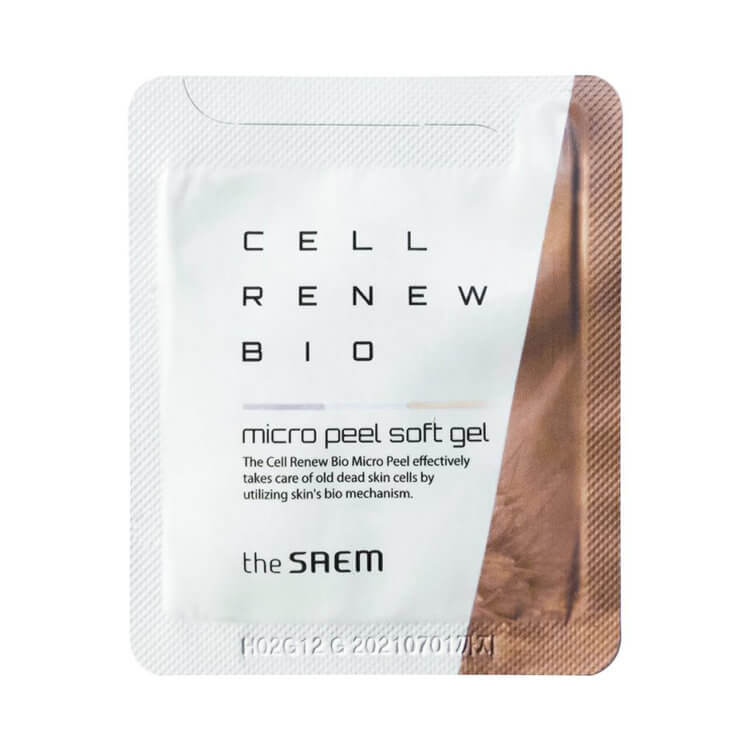 Пробник пилинг-геля The Saem Cell Renew Bio Micro Peel Soft Gel Sample