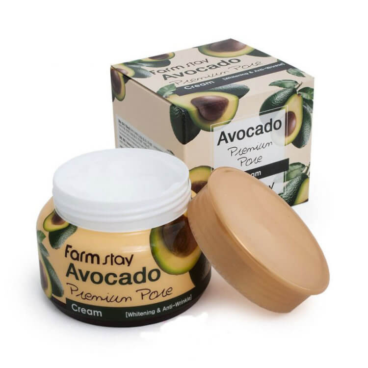 Премиум крем с авокадо FarmStay Avocado Premium Pore Cream, 100г