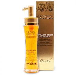 Эссенция 3W Clinic Collagen & Luxury Gold Revitalizing Comfort Gold Essence, 150мл