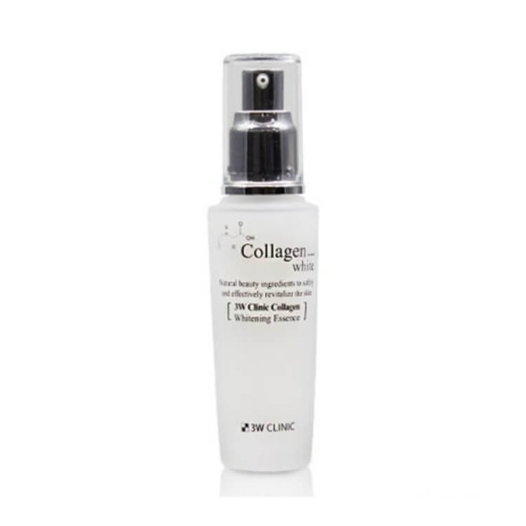 Осветляющая эссенция с коллагеном 3W Clinic Collagen Whitening Essence, 50мл