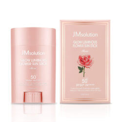 Солнцезащитный стик с розой JM Solution Glow Luminous Flower Light Sun Stick SPF50+/PA++++, 21г