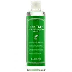 Освежающий тонер с экстрактом чайного дерева Secret Key Tea Tree Refresh Calming Toner, 248 мл