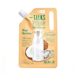 Ночная питательная маска Missha Mega Nutritious Talks Vegan Squeeze Pocket Sleeping Mask, 10г
