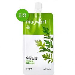 Ночная маска с полынью Aritaum Mugwort Fresh Power Essence Pouch Pack, 10мл