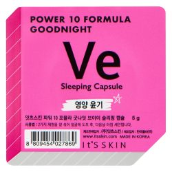 Ночная питательная маска Ve It's Skin Power 10 Formula Goodnight Sleeping Capsule Ve, 5г