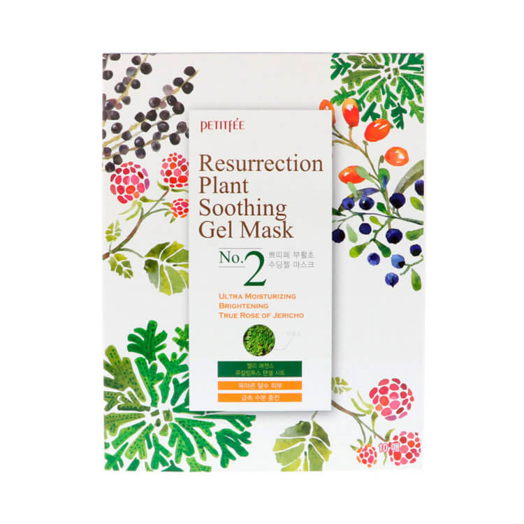 Увлажняющая маска Petitfee Resurrection Plant Soothing Gel Mask