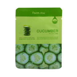 Тканевая маска с огурцом FarmStay Visible Difference Cucumber Mask Sheet