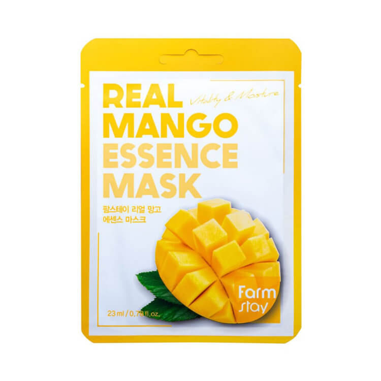 +Тканевая маска с экстрактом манго FarmStay Mango Real Essence Mask, 23мл