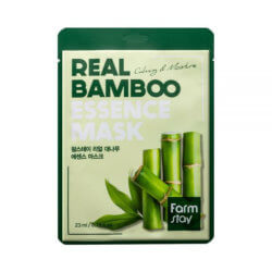 Тканевая маска с экстрактом бамбука FarmStay Real Bamboo Essence Mask, 23мл