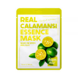 Тканевая маска с экстрактом каламанси FarmStay Real Calamansi Essence Mask, 23мл