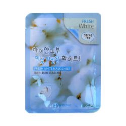 Осветляющая тканевая маска 3W Clinic Fresh White Mask Sheet