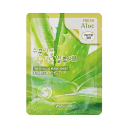 Тканевая маска с алоэ 3W Clinic Fresh Aloe Mask Sheet