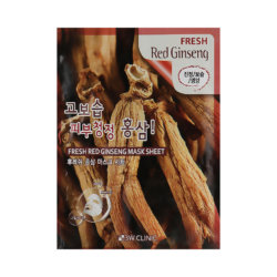 Тканевая маска с красным женьшенем 3W Clinic Fresh Red Ginseng Mask Sheet