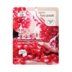 Тканевая маска с гранатом 3W Clinic Fresh Pomegranate Mask Sheet