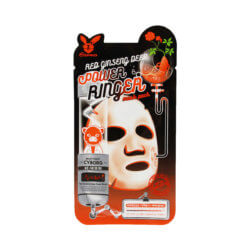 Тканевая маска с красным женьшенем Elizavecca Red Ginseng Deep Power Ringer Mask Pack