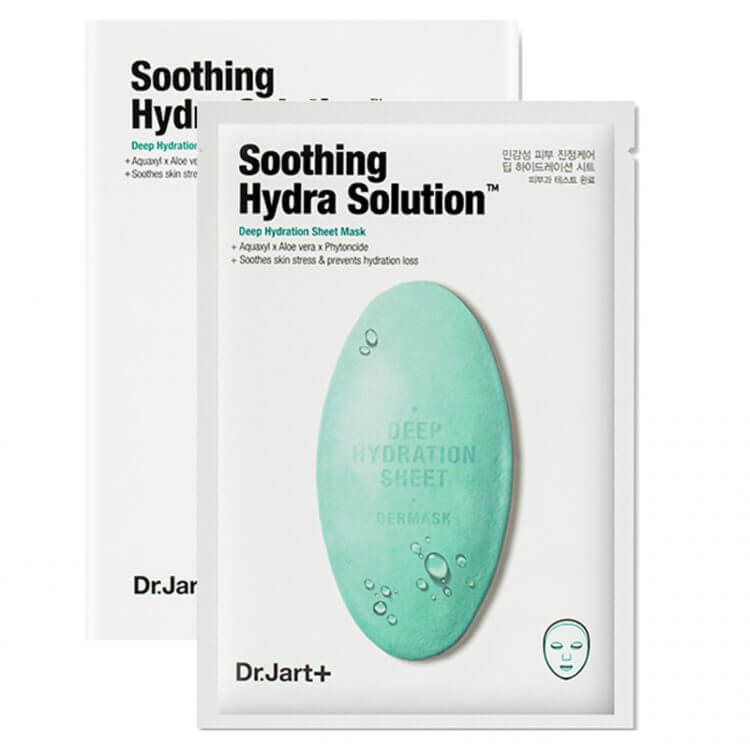 Увлажняющая маска Dr.Jart+ Waterjet Soothing Hydra Solution