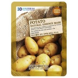 Тканевая маска с картошкой Food A Holic Potato 3D Shape Natural Essence Mask