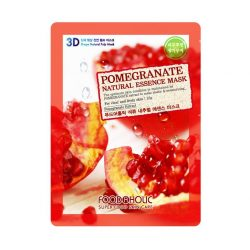 Тканевая маска с гранатом Food A Holic Pomegranate 3D Shape Natural Essence Mask