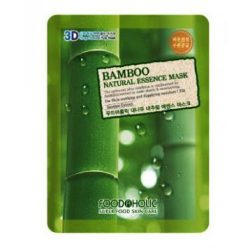 Тканевая маска с бамбуком Food A Holic Bamboo 3D Shape Natural Essence Mask