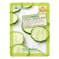 Тканевая маска с огурцом Food A Holic Cucumber 3D Shape Natural Essence Mask