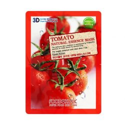 Тканевая маска с томатом Food A Holic Tomato 3D Shape Natural Essence Mask