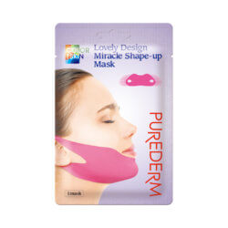 Маска-бандаж для подбородка Purederm Lovely Design Miracle Shape-Up Mask