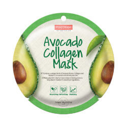 Тканевая маска для лица с авокадо и коллагеном Purederm Avocado Collagen Mask