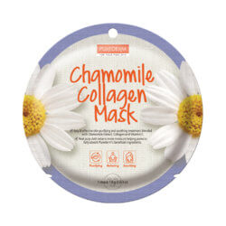 Тканевая маска для лица с ромашкой и коллагеном Purederm Chamomile Collagen Mask