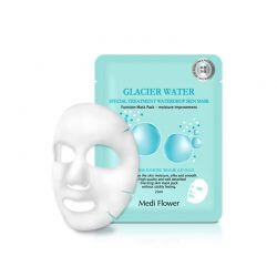 Тканевая маска с ледниковой водой Medi Flower Glacier Water Special Treatment WaterDrop Skin Mask