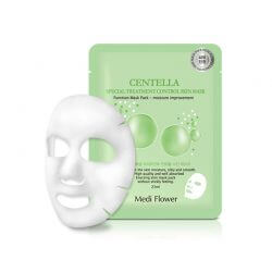 Тканевая маска с экстрактом центеллы Medi Flower Centella Special Treatment Control Skin Mask