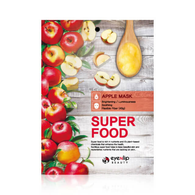 Тканевая маска с экстрактом яблока Eyenlip Super Food Apple Mask