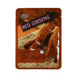 Тканевая маска с красным женьшенем May Island Red Ginseng Real Essence Mask Pack