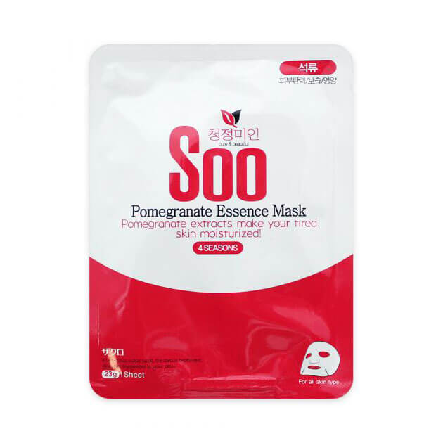 Тканевая маска с гранатом ChungJungMiin Soo Pomegranate Essence Mask