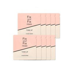 Пробник праймера под макияж Etude House Fix And Fix Tone Up Primer, тон 01 Rose